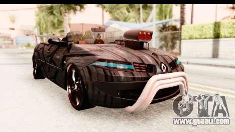 Renault Megane Spyder Full Tuning v2 for GTA San Andreas