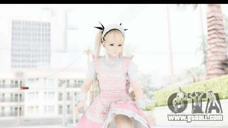 DoA 5: LR - Marie Rose Maid Remade for GTA San Andreas