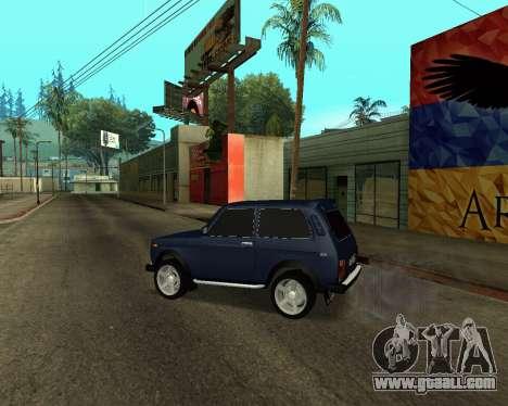 Niva 2121 Armenian for GTA San Andreas side view