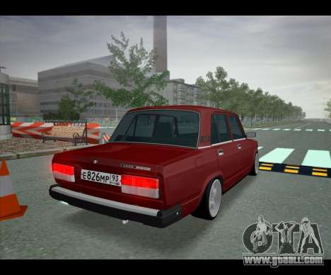 Lada 2107 Jiguar for GTA San Andreas left view