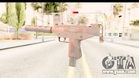 RE2 - Machine Gun for GTA San Andreas third screenshot