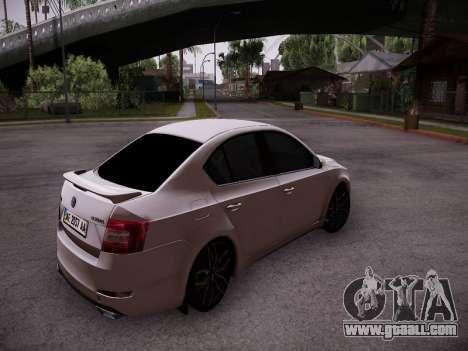 Skoda Octavia A7 R for GTA San Andreas right view