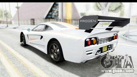 GTA 5 Progen Tyrus for GTA San Andreas interior