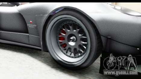 GTA 5 Bravado Banshee 900R Carbon Mip Map IVF for GTA San Andreas back view