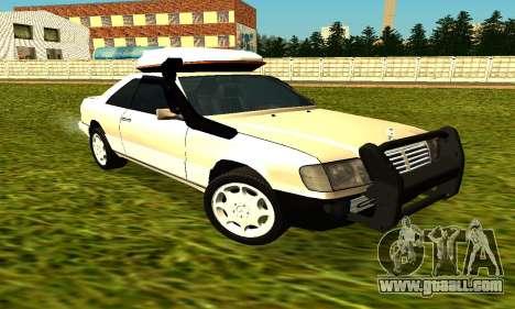 Mercedes Benz 320E for GTA San Andreas