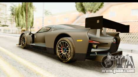 Scuderia Glickenhaus SCG 003C for GTA San Andreas left view
