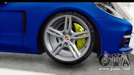 Porsche Panamera 4S 2017 v1 for GTA San Andreas back left view
