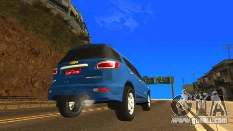 Chevrolet TrailBlazer 2015 LTZ for GTA San Andreas right view