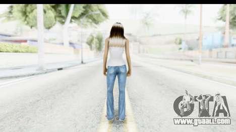Silverblk White Top for GTA San Andreas third screenshot