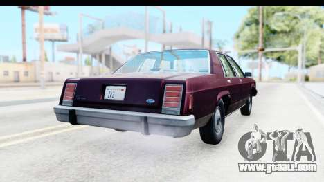 Ford LTD Crown Victoria 1987 for GTA San Andreas right view