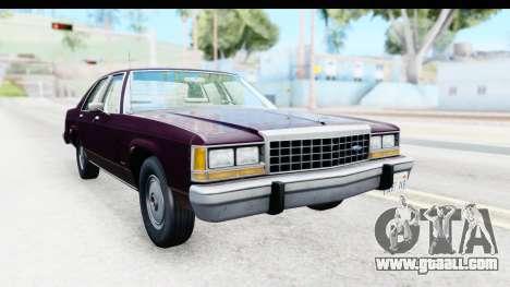 Ford LTD Crown Victoria 1987 for GTA San Andreas