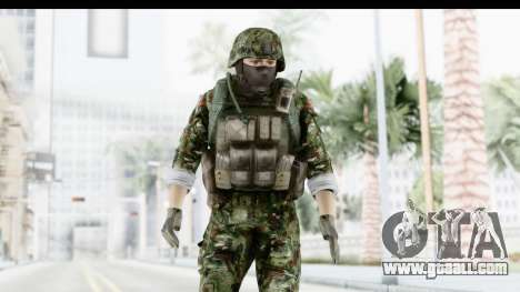 Global Warfare Balkan for GTA San Andreas
