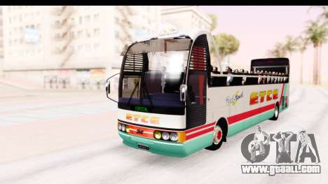 Bus Tours Dic Megadic 4x2 ETCE for GTA San Andreas