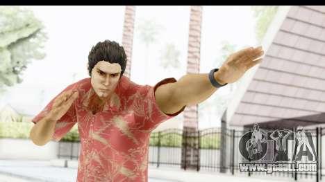 Yakuza 5 Kazuma Kiryu Okinawa for GTA San Andreas
