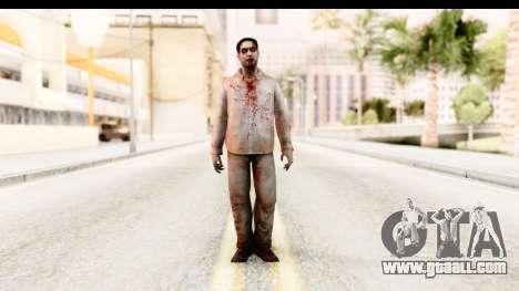 Left 4 Dead 2 - Zombie Shirt 1 for GTA San Andreas second screenshot