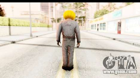 Left 4 Dead 2 - Zombie Pumpkin for GTA San Andreas third screenshot