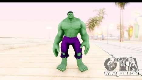 Marvel Heroes - Hulk for GTA San Andreas second screenshot