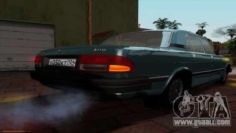 GAZ 3110 Volga for GTA San Andreas upper view