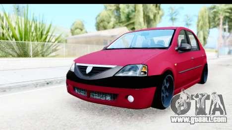 Dacia Logan Editie for GTA San Andreas
