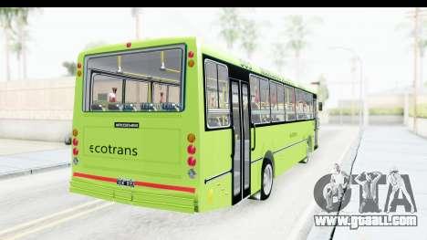Bus La Favorita Ecotrans for GTA San Andreas left view