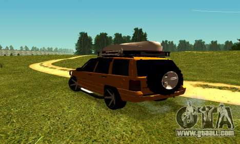 Jeep Grand Cherokee for GTA San Andreas right view