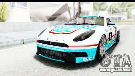 GTA 5 Ocelot Lynx SA Lights PJ for GTA San Andreas side view