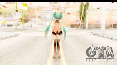 Miku Api Oufit v2.0 for GTA San Andreas third screenshot
