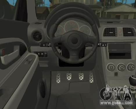 Subaru Impreza Armenian for GTA San Andreas side view