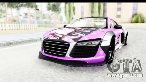 Audi R8 V10 Plus 5.2 FSi 2013 LB Perfomance for GTA San Andreas