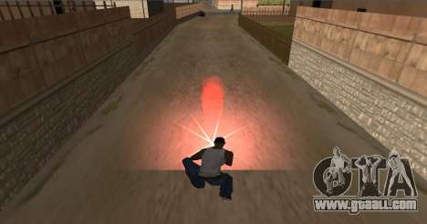 Install fire for GTA San Andreas