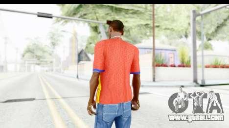 Spain Home Kit 2016 for GTA San Andreas third screenshot