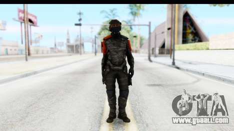 Homefront The Revolution - KPA v4 Camo for GTA San Andreas second screenshot
