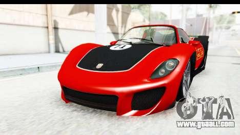 GTA 5 Pfister 811 SA Lights for GTA San Andreas side view