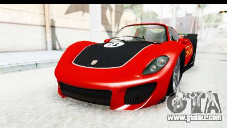 GTA 5 Pfister 811 IVF for GTA San Andreas upper view