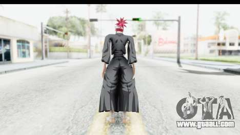 Bleach - Renji for GTA San Andreas third screenshot