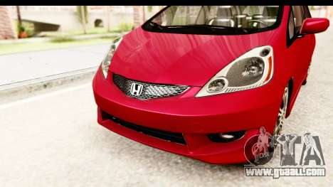 Honda Fit Sport 2009 for GTA San Andreas side view