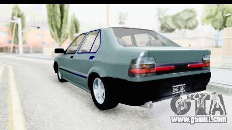 Renault 19 RE for GTA San Andreas left view