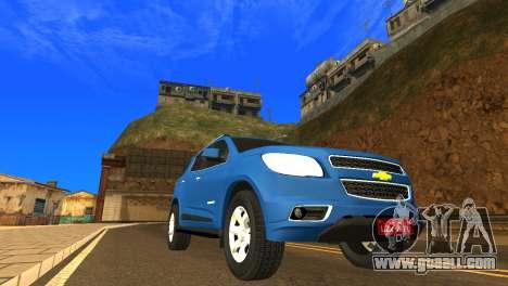 Chevrolet TrailBlazer 2015 LTZ for GTA San Andreas left view