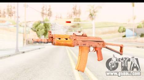 AKS-74U for GTA San Andreas