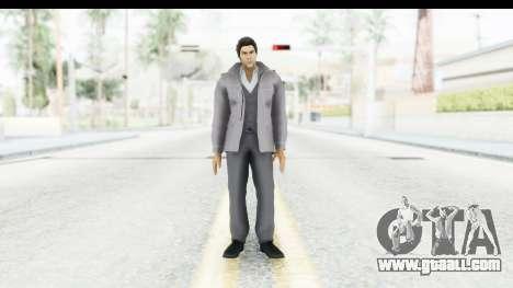 Yakuza 5 Kazuma Kiryu Fukuoka for GTA San Andreas second screenshot