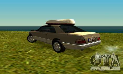 Mercedes Benz 320E for GTA San Andreas right view