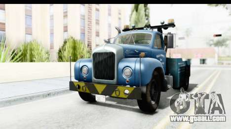Mack B-61 1953 Towtruck v1 for GTA San Andreas right view