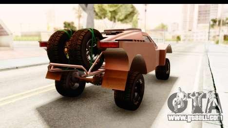 GTA 5 Desert Raid SA Lights PJ for GTA San Andreas back left view