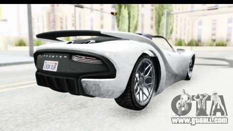 GTA 5 Pfister 811 SA Lights for GTA San Andreas left view
