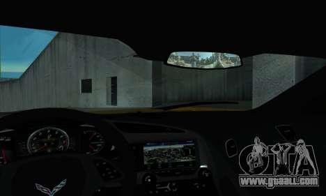 Chevrolet Corvette for GTA San Andreas right view