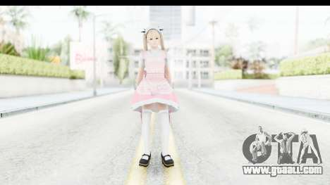 DoA 5: LR - Marie Rose Maid Remade for GTA San Andreas second screenshot