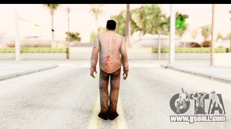 Left 4 Dead 2 - Zombie Shirt 1 for GTA San Andreas third screenshot