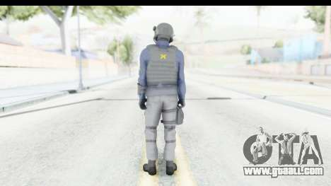 Quantum Break Monarch Operators for GTA San Andreas third screenshot