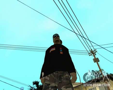 Armenian Skin for GTA San Andreas third screenshot