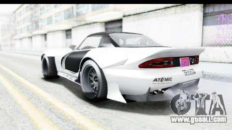 GTA 5 Bravado Banshee 900R Carbon Mip Map for GTA San Andreas bottom view